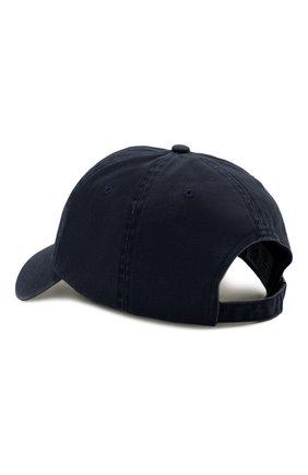 Мужской хлопковая бейсболка PARAJUMPERS синего цвета, арт. HA01/PJS CAP   Фото 2