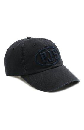 Мужской хлопковая бейсболка PARAJUMPERS темно-синего цвета, арт. HA01/PJS CAP   Фото 1