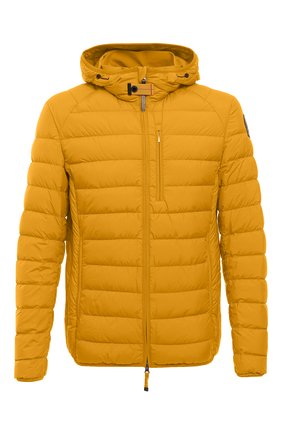 Мужская пуховая куртка last minute PARAJUMPERS желтого цвета, арт. SL02/LAST MINUTE | Фото 1