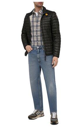 Мужская пуховая куртка arthur PARAJUMPERS хаки цвета, арт. DT02/ARTHUR   Фото 2