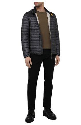 Мужская пуховая куртка arthur PARAJUMPERS темно-серого цвета, арт. DT02/ARTHUR   Фото 2