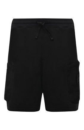 Мужские шорты STONE ISLAND SHADOW PROJECT черного цвета, арт. 741960307   Фото 1