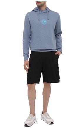 Мужские шорты STONE ISLAND SHADOW PROJECT черного цвета, арт. 741960307   Фото 2