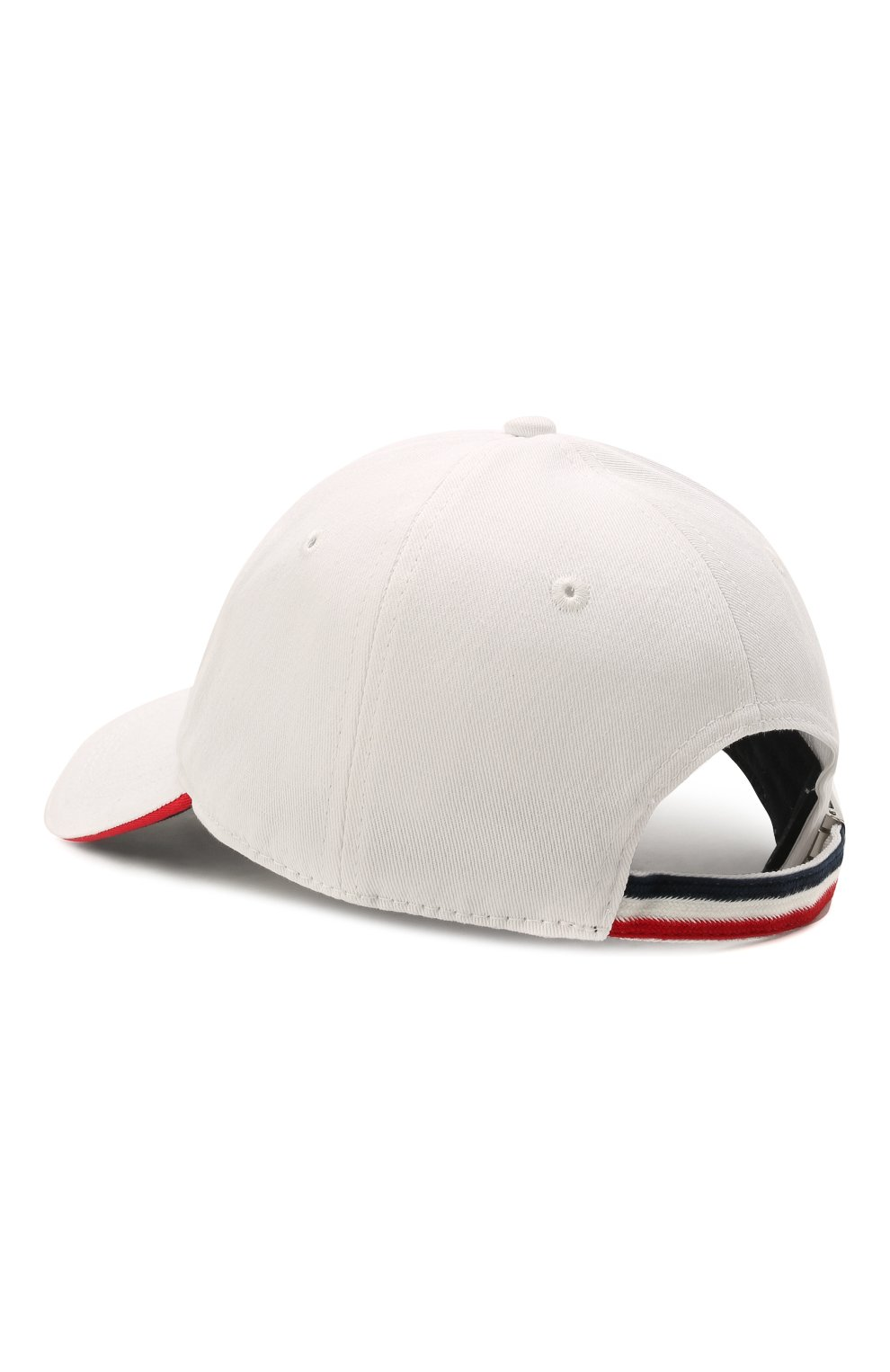 Мужской хлопковая бейсболка MONCLER белого цвета, арт. G1-091-3B707-00-V0090 | Фото 2