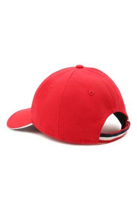 Мужской хлопковая бейсболка MONCLER красного цвета, арт. G1-091-3B707-00-V0090 | Фото 2