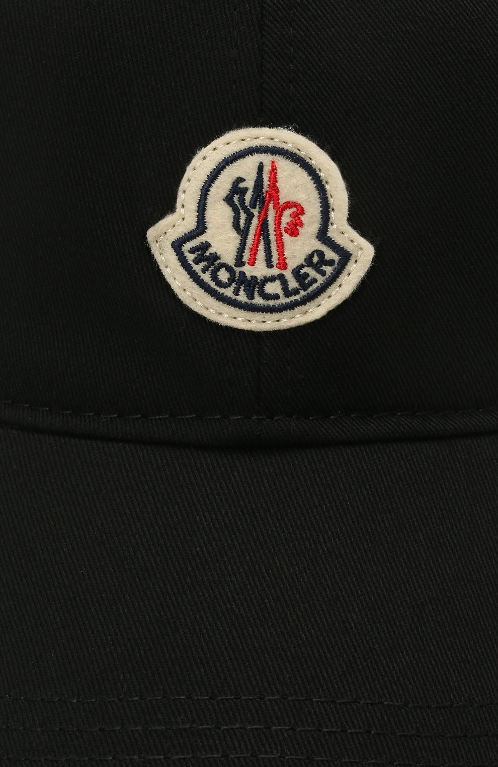 Мужской хлопковая бейсболка MONCLER черного цвета, арт. G1-091-3B707-00-V0090 | Фото 3