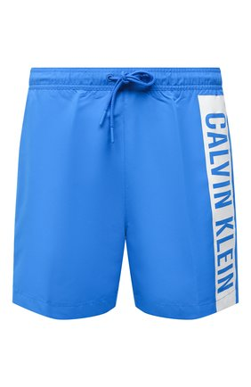 Мужские плавки-шорты CALVIN KLEIN синего цвета, арт. KM0KM00542 | Фото 1