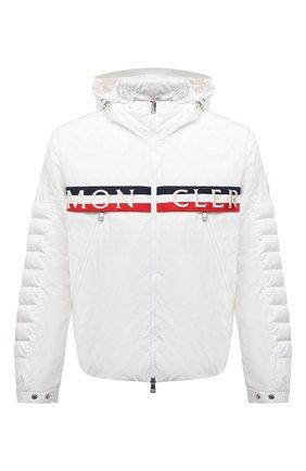 Мужская пуховая куртка olargues MONCLER белого цвета, арт. G1-091-1B50A-00-54A91 | Фото 1