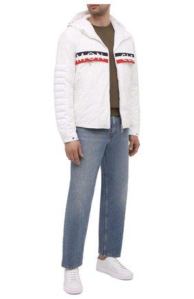 Мужская пуховая куртка olargues MONCLER белого цвета, арт. G1-091-1B50A-00-54A91 | Фото 2