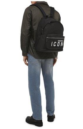 Мужской текстильный рюкзак DSQUARED2 черного цвета, арт. BPM0052 11703199 | Фото 2
