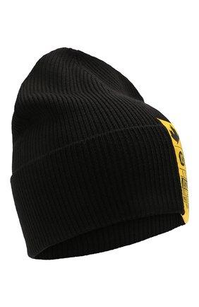 Мужская шерстяная шапка DSQUARED2 черного цвета, арт. KNM0001 01W03935 | Фото 1