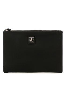 Мужской текстильный футляр для документов DSQUARED2 черного цвета, арт. P0M0010 11703886 | Фото 1
