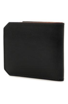 Мужской кожаное портмоне SANTONI черного цвета, арт. UFPPA2025F0-XVVDN01 | Фото 2