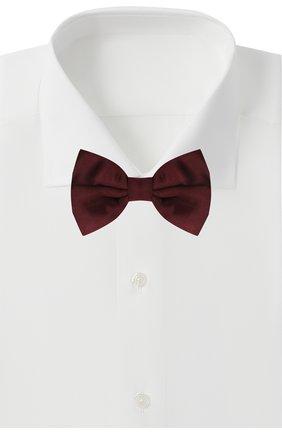 Мужской шелковый галстук-бабочка CORNELIANI бордового цвета, арт. 87U308-1120300/00 | Фото 2