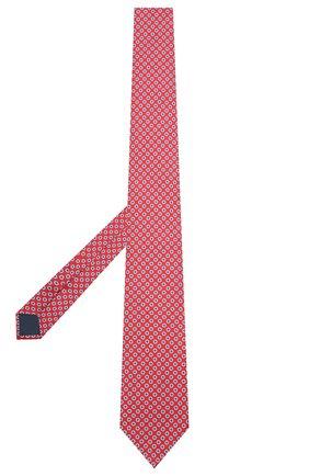 Мужской шелковый галстук CORNELIANI красного цвета, арт. 87U390-1120333/00 | Фото 2