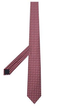 Мужской шелковый галстук CORNELIANI красного цвета, арт. 87U306-1120341/00 | Фото 2
