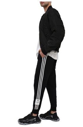 Мужские хлопковые джоггеры Y-3 черного цвета, арт. H16338/M   Фото 2