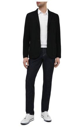 Мужские кожаные кроссовки BARRETT белого цвета, арт. SAW-039.19/CERV0 | Фото 2