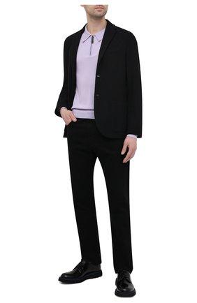 Мужские кожаные дерби BARRETT черного цвета, арт. BASTIA-006.6/SPAZZ0LAT0 | Фото 2