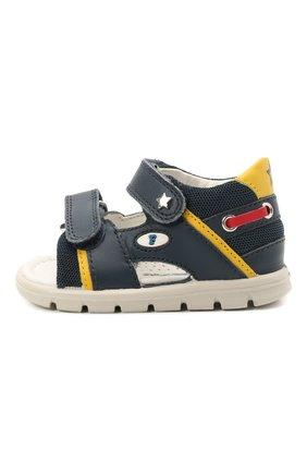 Детские кожаные сандалии FALCOTTO синего цвета, арт. 0011500888/01 | Фото 2