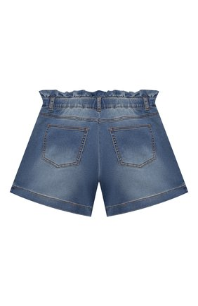 Детские джинсовые шорты MOSCHINO синего цвета, арт. HDQ008/LDE03/10A-14A | Фото 2