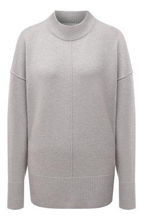 Женский кашемировый свитер BOSS светло-серого цвета, арт. 50444485 | Фото 1