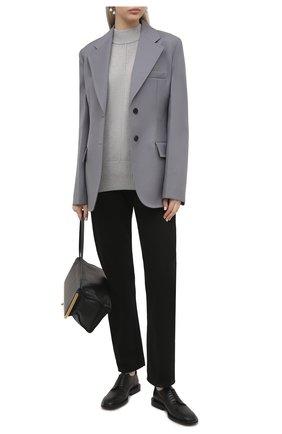 Женский кашемировый свитер BOSS светло-серого цвета, арт. 50444485 | Фото 2