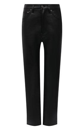 Женские брюки AGOLDE черного цвета, арт. A164-1285 | Фото 1