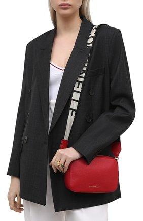 Женская сумка tebe COCCINELLE красного цвета, арт. E5 HV3 55 I1 07   Фото 2