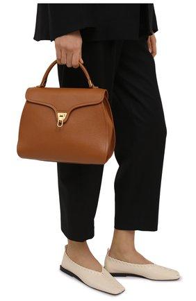 Женская сумка marvin COCCINELLE коричневого цвета, арт. E1 HP0 18 03 01   Фото 2