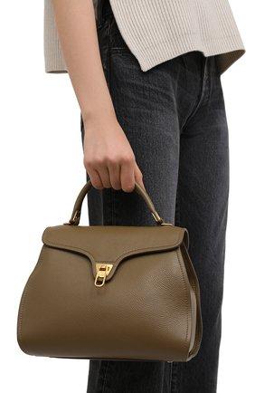 Женская сумка marvin COCCINELLE хаки цвета, арт. E1 HP0 18 03 01   Фото 2
