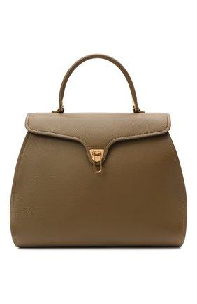 Женская сумка marvin COCCINELLE хаки цвета, арт. E1 HP0 18 02 01   Фото 1
