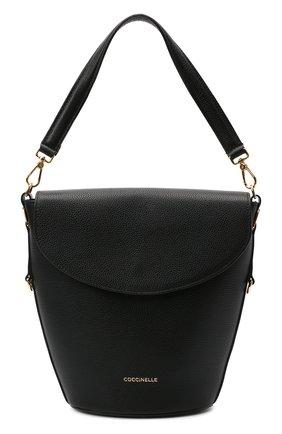 Женская сумка diana COCCINELLE черного цвета, арт. E1 HHG 18 05 01   Фото 1
