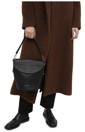 Женская сумка diana COCCINELLE черного цвета, арт. E1 HHG 18 05 01   Фото 2