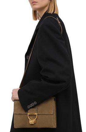 Женская сумка arlettis COCCINELLE хаки цвета, арт. E1 HD6 12 07 01   Фото 2