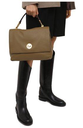 Женская сумка liya COCCINELLE хаки цвета, арт. E1 HD0 18 01 01   Фото 2
