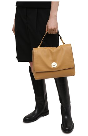 Женская сумка liya COCCINELLE желтого цвета, арт. E1 HD0 18 01 01   Фото 2