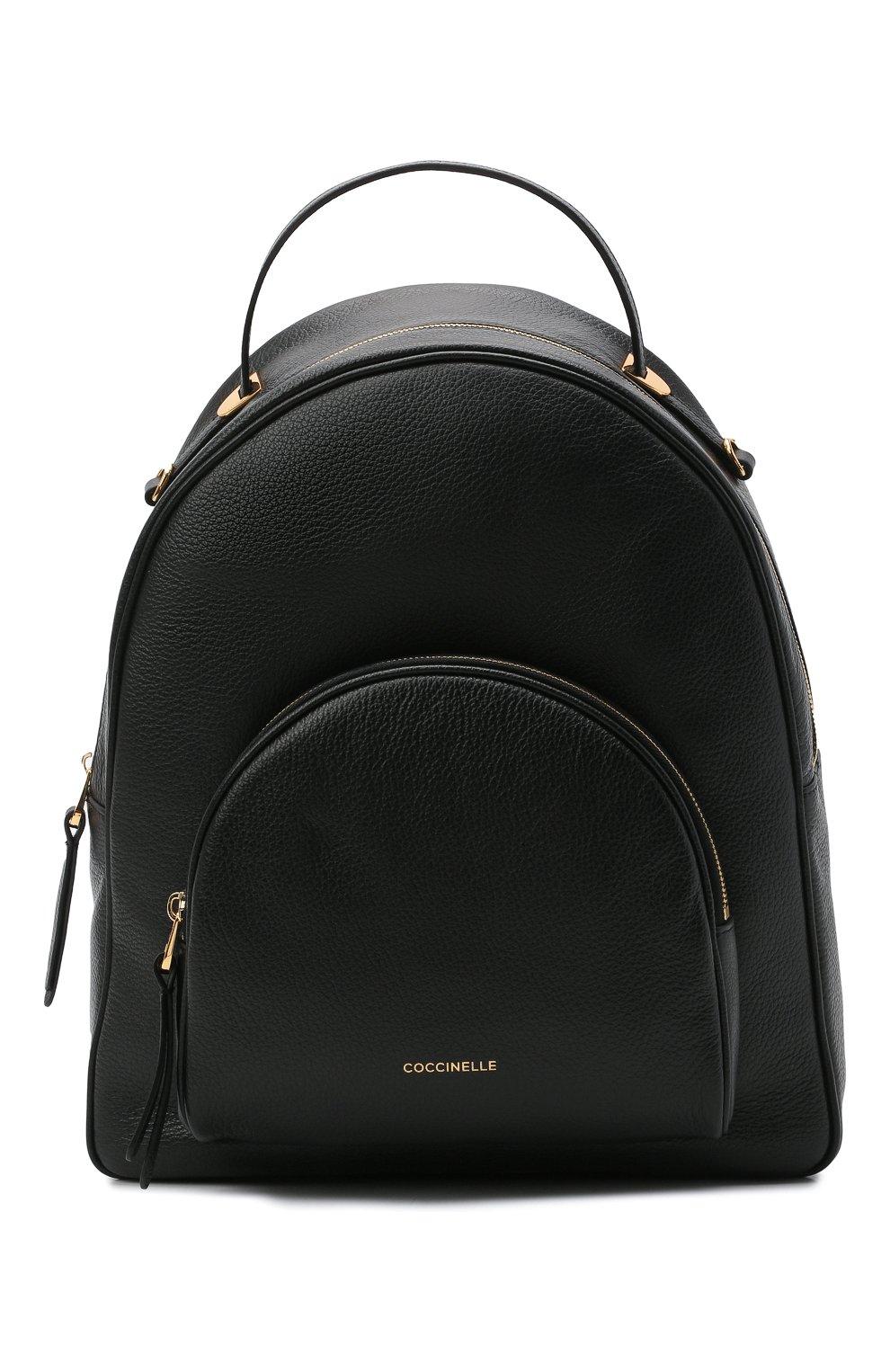 Женский рюкзак lea COCCINELLE черного цвета, арт. E1 H60 14 02 01 | Фото 1