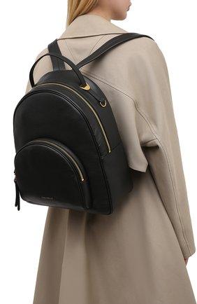 Женский рюкзак lea COCCINELLE черного цвета, арт. E1 H60 14 02 01 | Фото 2