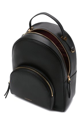 Женский рюкзак lea COCCINELLE черного цвета, арт. E1 H60 14 02 01 | Фото 4