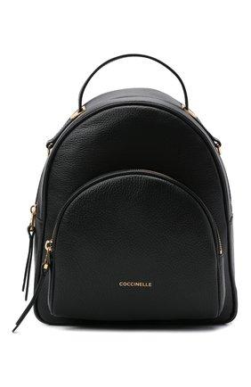 Женский рюкзак lea COCCINELLE черного цвета, арт. E1 H60 14 01 01 | Фото 1