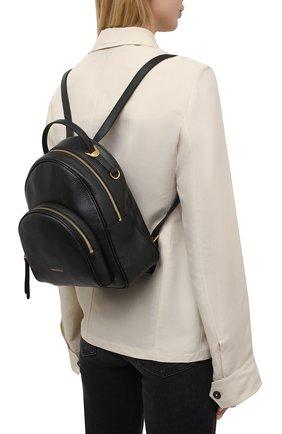 Женский рюкзак lea COCCINELLE черного цвета, арт. E1 H60 14 01 01 | Фото 2