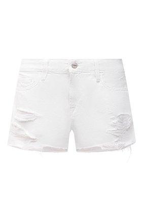 Женские джинсовые шорты FRAME DENIM белого цвета, арт. LGGSHRA171   Фото 1