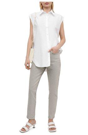 Женские джинсы FRAME DENIM светло-серого цвета, арт. LSY74D   Фото 2