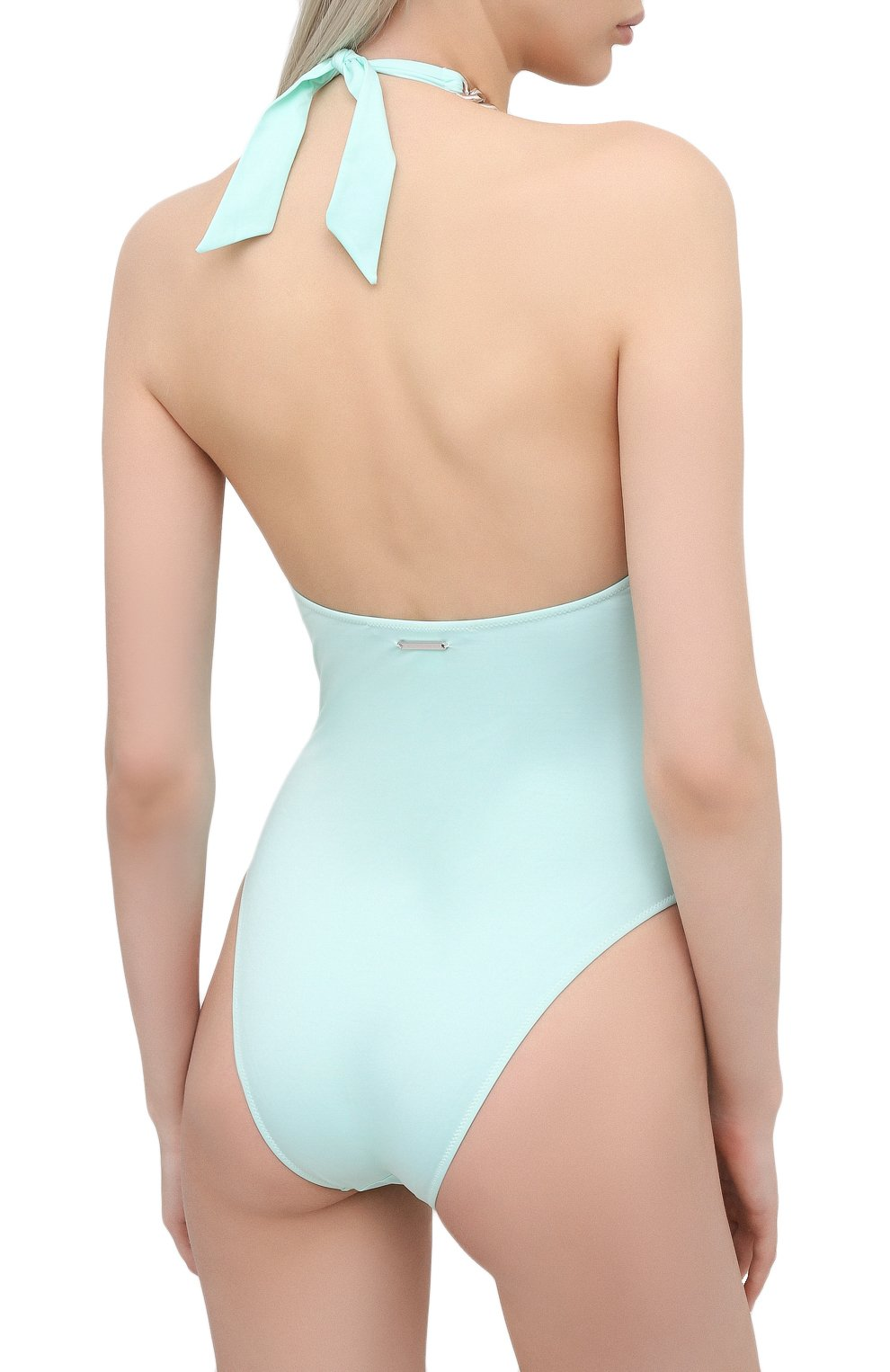 Женский слитный купальник STELLA MCCARTNEY голубого цвета, арт. S7BG81210 | Фото 3