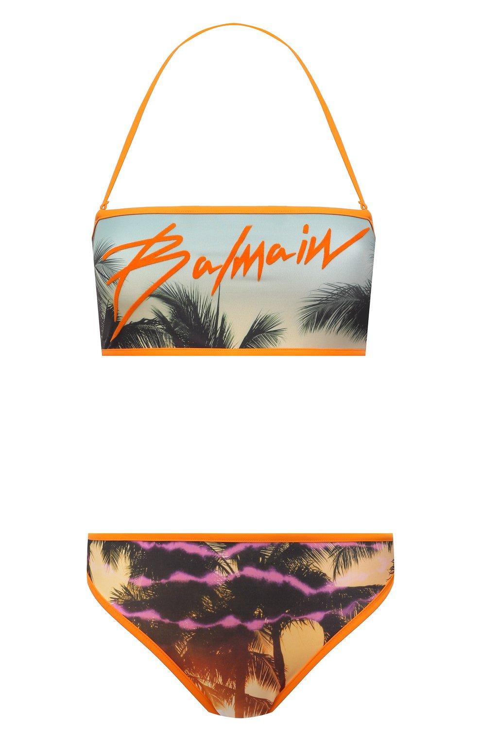 Женский раздельный купальник BALMAIN разноцветного цвета, арт. BKBAF0290 | Фото 1
