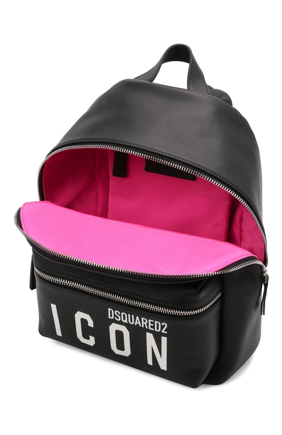 Женский рюкзак DSQUARED2 черного цвета, арт. BPW0018 25103905   Фото 4