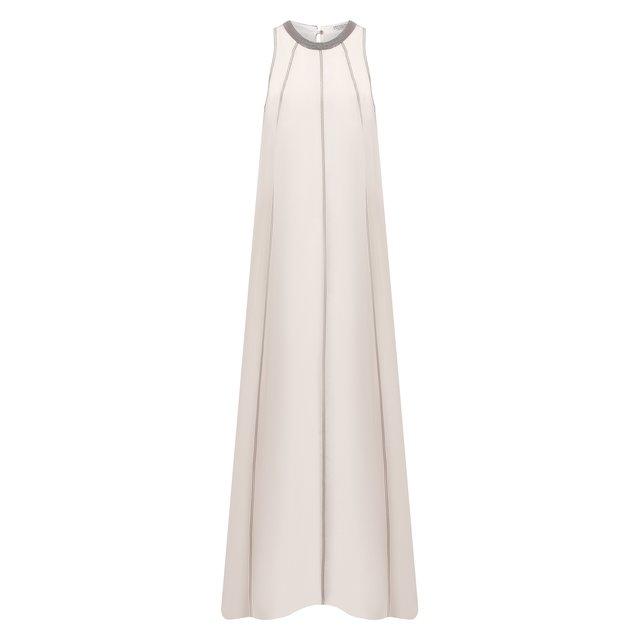 Шелковое платье Brunello Cucinelli