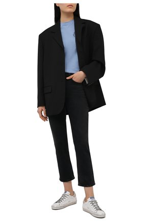 Женские джинсы AGOLDE темно-серого цвета, арт. A156B-1286 | Фото 2