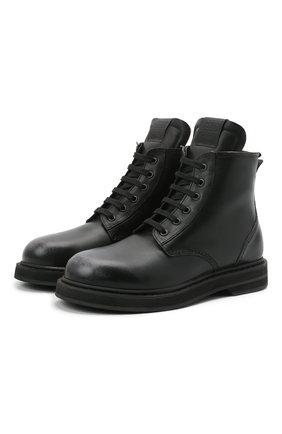 Женские кожаные ботинки GOLDEN GOOSE DELUXE BRAND черного цвета, арт. GWF00187.F000961 | Фото 1